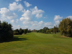The 18th Fairway looking back towards the Tee