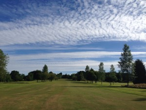 The 6th Hole in late summer